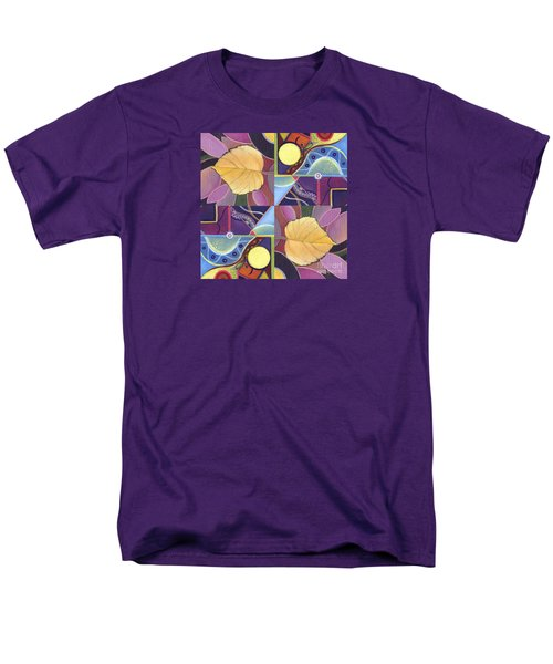 Time Goes By - The Joy Of Design Series Arrangement Men's T-Shirt  (Regular Fit) by Helena Tiainen