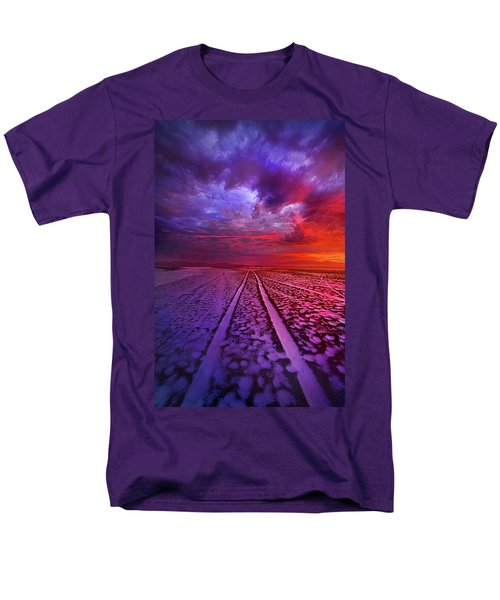 Men's T-Shirt  (Regular Fit) featuring the photograph To All Ends Of The World by Phil Koch