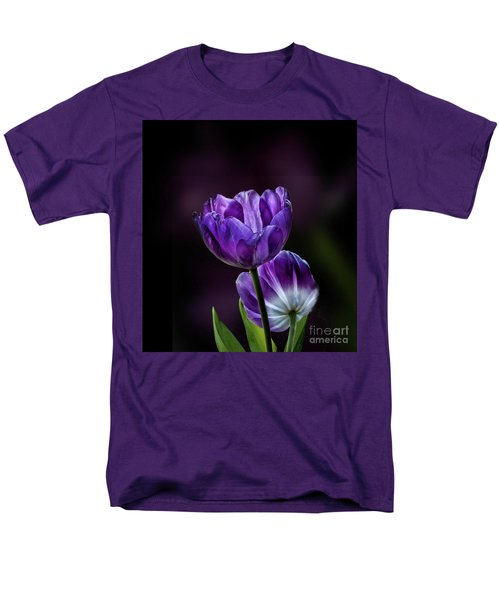Tulips Men's T-Shirt  (Regular Fit) by Shirley Mangini