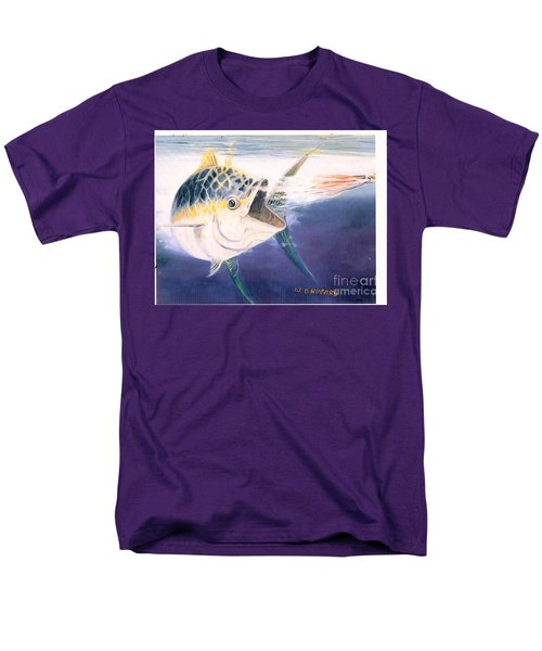 Tuna To The Lure Men's T-Shirt  (Regular Fit) by Bill Hubbard