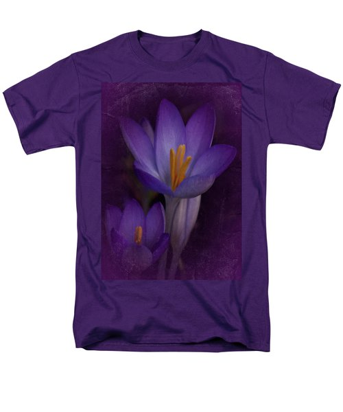 Vintage Crocus 2017 Men's T-Shirt  (Regular Fit) by Richard Cummings
