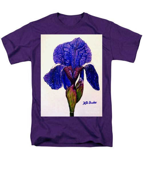 Weeping Iris Men's T-Shirt  (Regular Fit) by Kimberlee Baxter