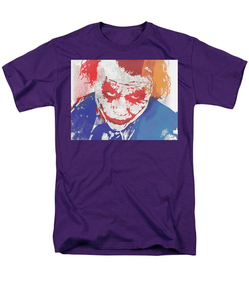 Why So Serious Men's T-Shirt  (Regular Fit) by Dan Sproul