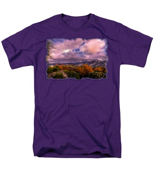 Winter Colors 25 Men's T-Shirt  (Regular Fit) by Mark Myhaver