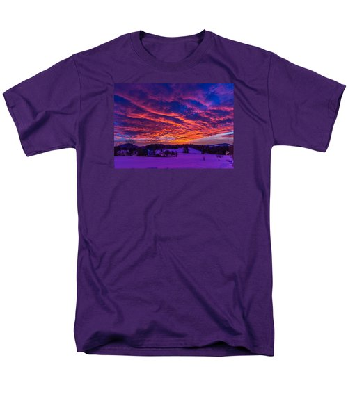 Winter Sunrise Men's T-Shirt  (Regular Fit) by Tim Kirchoff