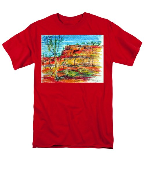 Kimberly Bold Cliffs Australia Nt Men's T-Shirt  (Regular Fit)