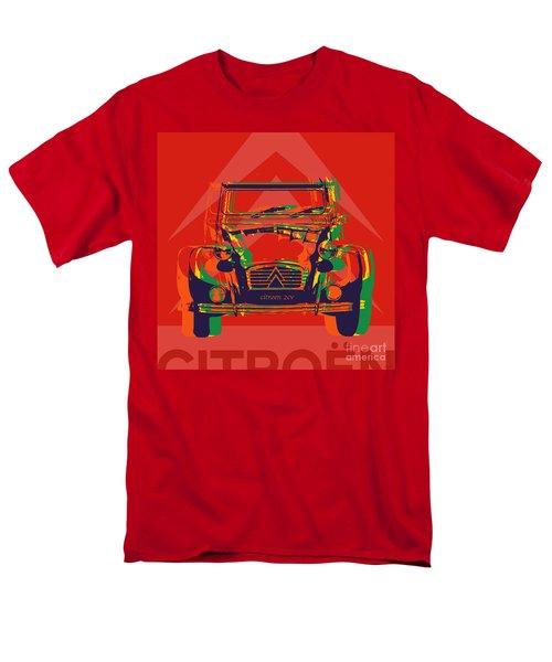 Citroen 2cv Men's T-Shirt  (Regular Fit) by Jean luc Comperat