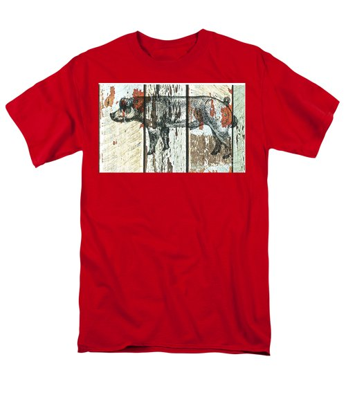 Danish Duroc Boar Men's T-Shirt  (Regular Fit) by Larry Campbell