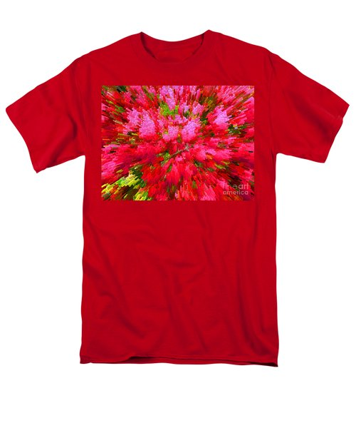 Explosion Of Spring Men's T-Shirt  (Regular Fit) by Alys Caviness-Gober