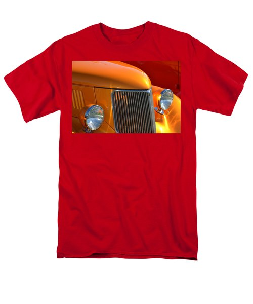 Orange Hotrod Men's T-Shirt  (Regular Fit) by Dean Ferreira