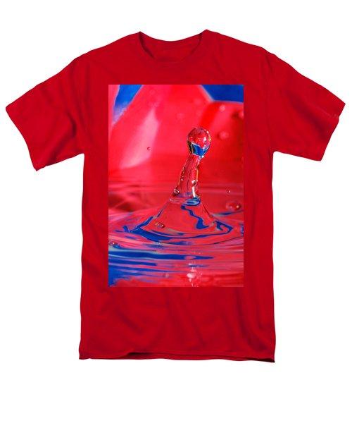 Men's T-Shirt  (Regular Fit) featuring the photograph Rainbow Drop by Peter Lakomy
