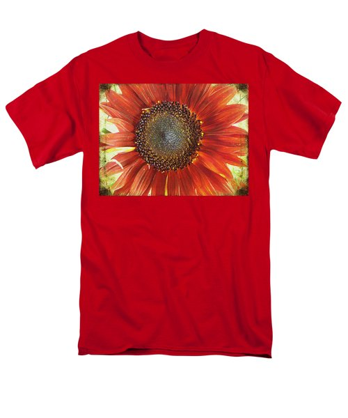 Men's T-Shirt  (Regular Fit) featuring the photograph Sunflower by Kathy Bassett