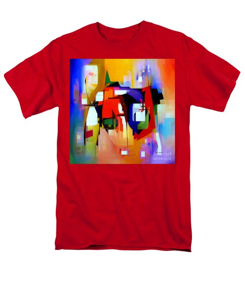 Abstract Series Iv Men's T-Shirt  (Regular Fit) by Rafael Salazar
