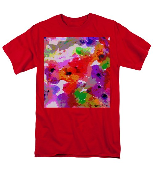 Men's T-Shirt  (Regular Fit) featuring the painting A Little Watercolor by Jamie Frier