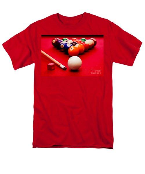 Billards Pool Game Men's T-Shirt  (Regular Fit) by Michal Bednarek