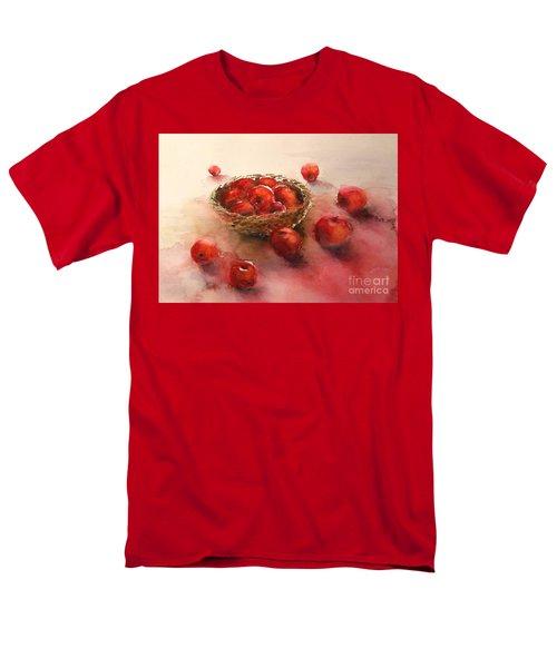 Apples  Apples Men's T-Shirt  (Regular Fit) by Yoshiko Mishina