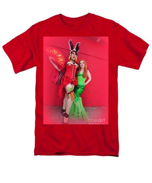 Mermaid Parade 2011 Men's T-Shirt  (Regular Fit) by Mark Gilman