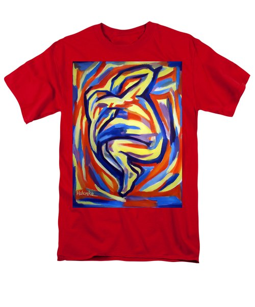 Men's T-Shirt  (Regular Fit) featuring the painting Here by Helena Wierzbicki
