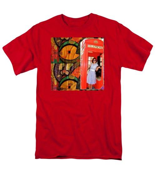 A Classic Chrissy Moment Men's T-Shirt  (Regular Fit) by Anna Porter