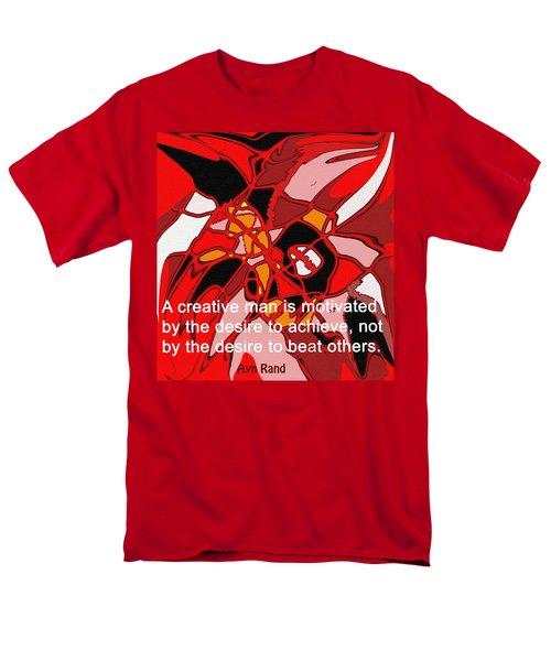 A Creative Man Men's T-Shirt  (Regular Fit) by Ian  MacDonald