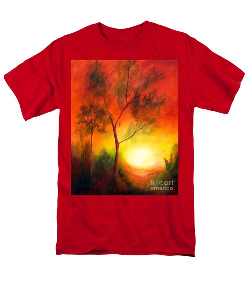 A New Day Men's T-Shirt  (Regular Fit) by Alison Caltrider