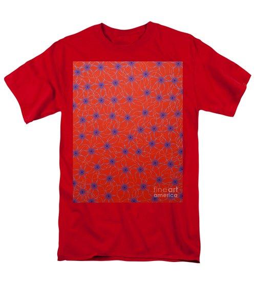 Men's T-Shirt  (Regular Fit) featuring the painting Aboriginal Inspirations Collection 3 by Mariusz Czajkowski
