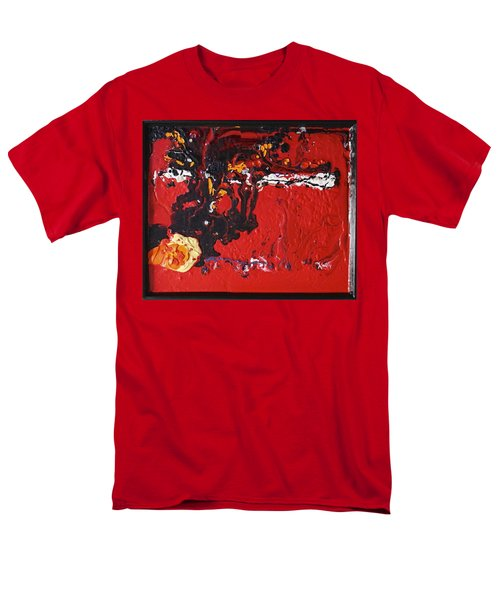 Abstract 13 - Dragons Men's T-Shirt  (Regular Fit) by Mario Perron