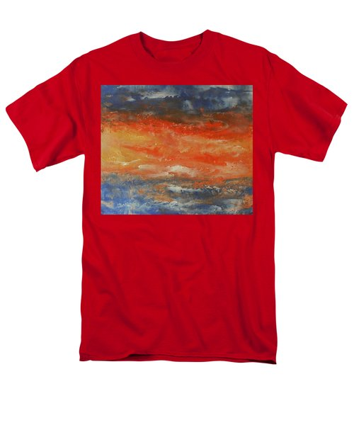 Abstract Sunset  Men's T-Shirt  (Regular Fit) by Jane See
