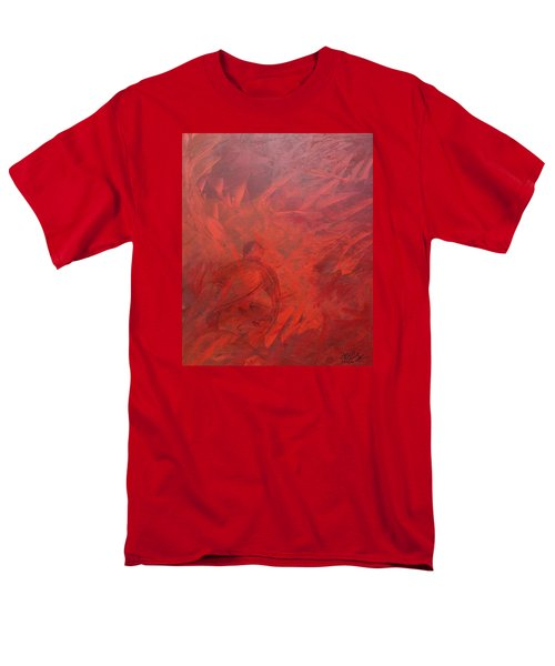 Acrylic Msc 181 Men's T-Shirt  (Regular Fit) by Mario Sergio Calzi