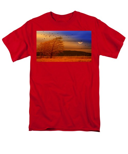 Against The Wind Men's T-Shirt  (Regular Fit) by Holly Kempe