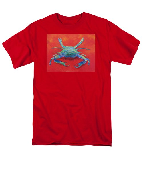 Another Red Crab Men's T-Shirt  (Regular Fit) by Anne Marie Brown