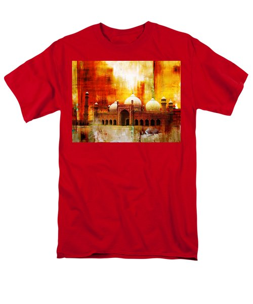 Badshahi Mosque Or The Royal Mosque Men's T-Shirt  (Regular Fit) by Catf