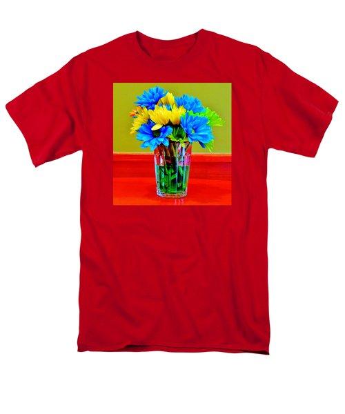 Beauty In A Vase Men's T-Shirt  (Regular Fit)