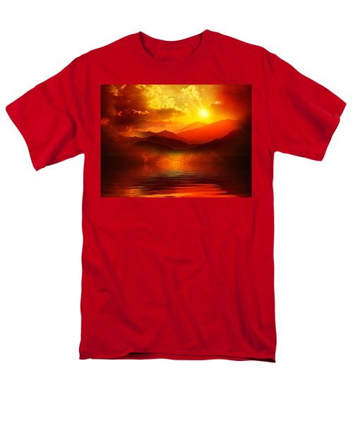 Before The Sun Goes To Sleep Men's T-Shirt  (Regular Fit) by Gabriella Weninger - David
