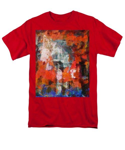 Men's T-Shirt  (Regular Fit) featuring the digital art Blows Away In The Wind by Joe Misrasi