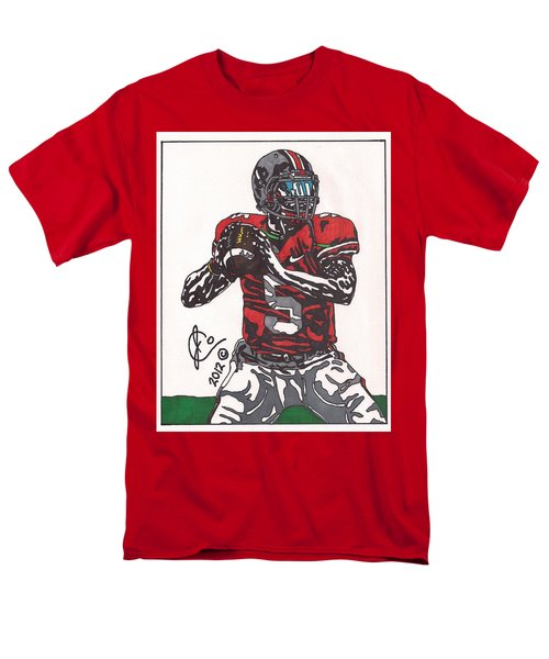 Braxton Miller 1 Men's T-Shirt  (Regular Fit) by Jeremiah Colley