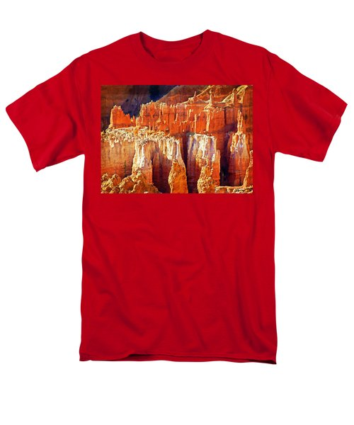 Men's T-Shirt  (Regular Fit) featuring the photograph Brilliant Bryce by Marty Koch