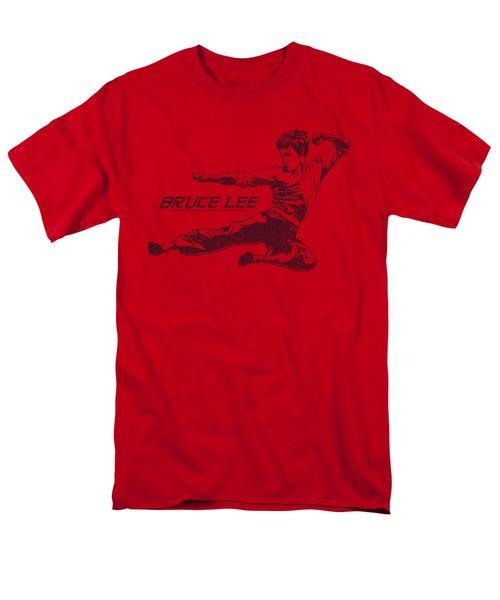 Bruce Lee - Line Kick Men's T-Shirt  (Regular Fit) by Brand A
