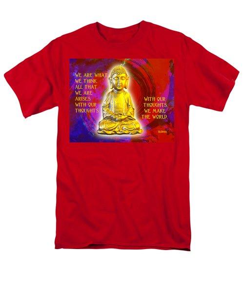 Buddha's Thoughts 2 Men's T-Shirt  (Regular Fit) by Ginny Gaura