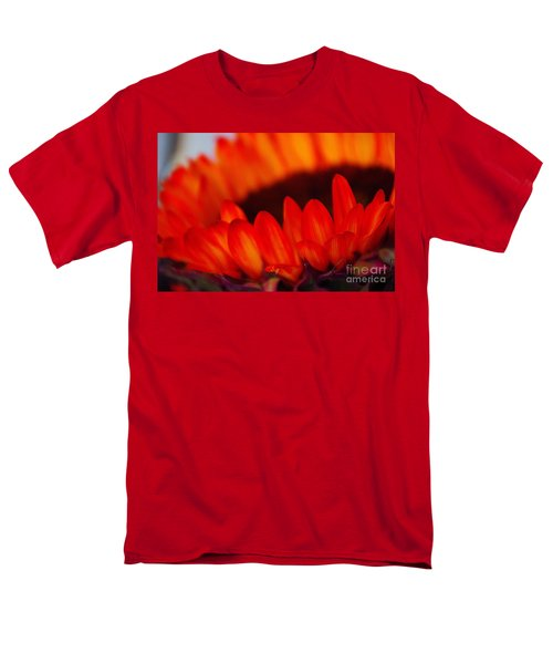 Men's T-Shirt  (Regular Fit) featuring the photograph Burning Ring Of Fire 2 by John S