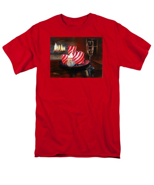 Candle Glow Men's T-Shirt  (Regular Fit) by LaVonne Hand