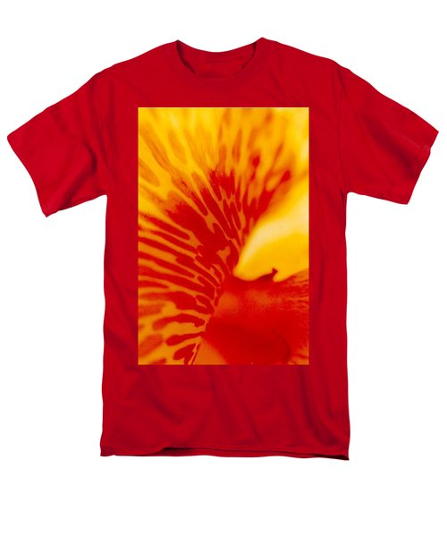 Men's T-Shirt  (Regular Fit) featuring the photograph Canna Lilly by Michael Hoard
