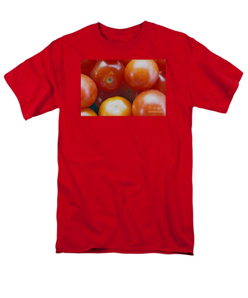 Men's T-Shirt  (Regular Fit) featuring the photograph Cherry Tomatoes by Cassandra Buckley