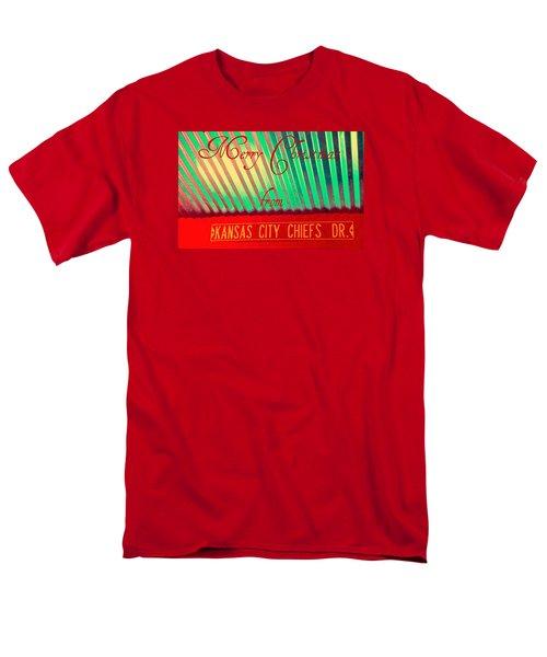 Chiefs Christmas Men's T-Shirt  (Regular Fit) by Chris Berry