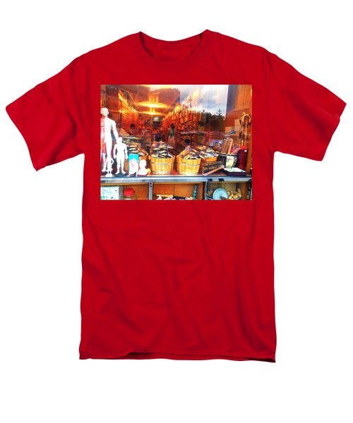 Chinatown Nyc Herb Shop Men's T-Shirt  (Regular Fit) by Joan Reese