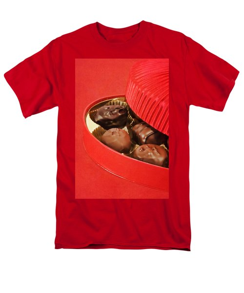 Men's T-Shirt  (Regular Fit) featuring the photograph Chocolate Candy by Vizual Studio