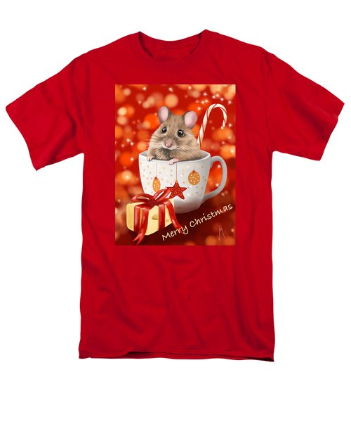 Christmas Cup Men's T-Shirt  (Regular Fit) by Veronica Minozzi
