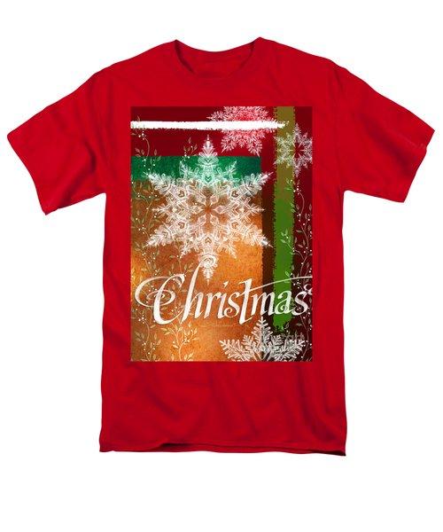 Christmas Greetings Men's T-Shirt  (Regular Fit)