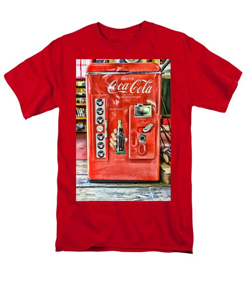 Coca-cola Retro Style Men's T-Shirt  (Regular Fit) by Paul Ward