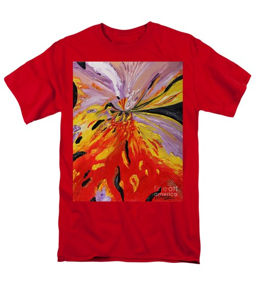 Colourburst Men's T-Shirt  (Regular Fit) by Loredana Messina